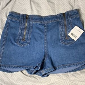 NWT*LOWER PRICE *FREE PEOPLE DENIM SAILOR SHORTS
